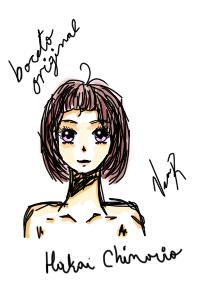 Original sketch HaKai Chinoiro by Miss by MissCompulsiva