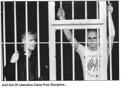 Skinhead Jail by commiemonkey