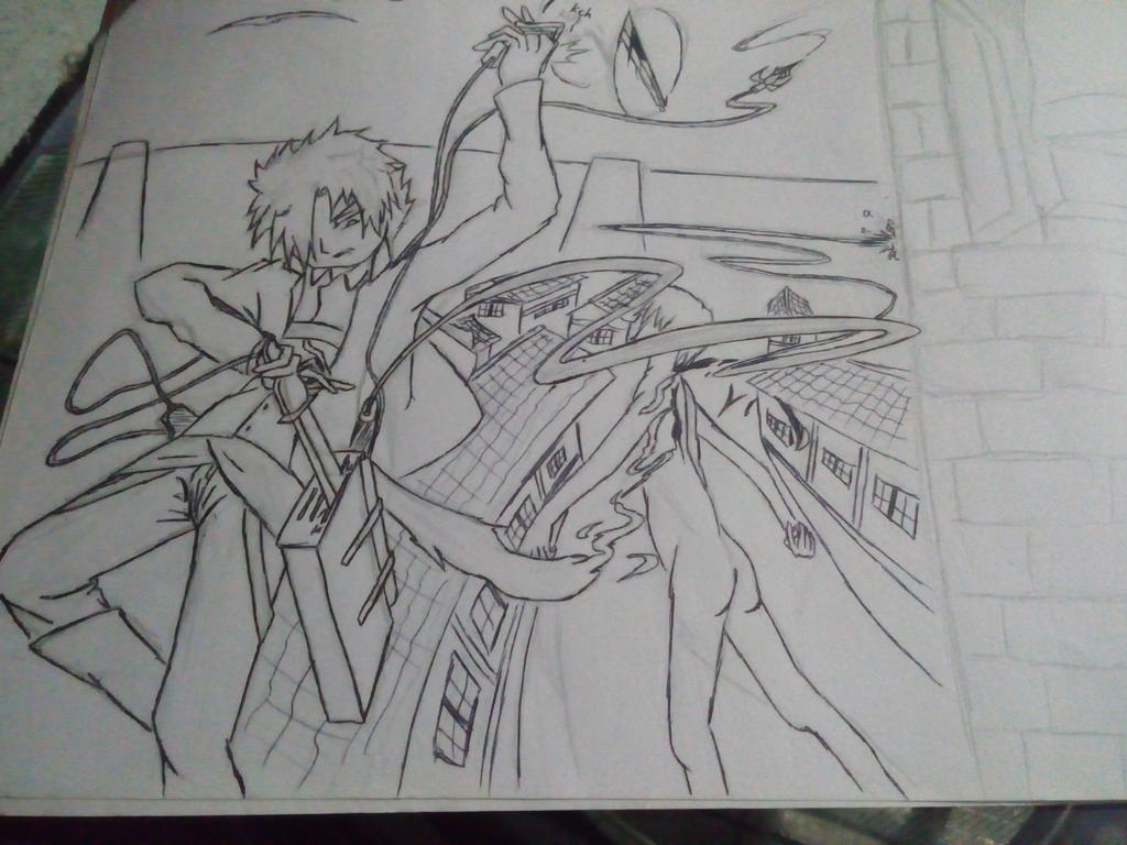 Old Drawing - SNK by LracxZinkxzink