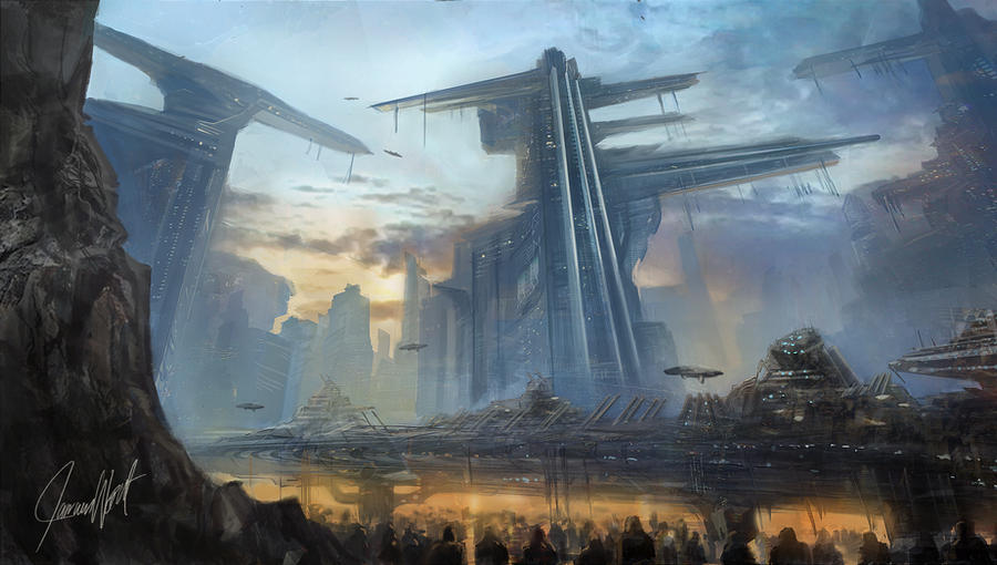 City of Icarus by Herck