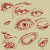 Eyes Practice by jamjamstyle