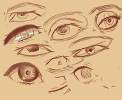 Manga Eyes by jamjamstyle