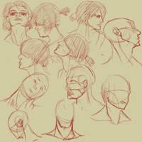 Neck Study by jamjamstyle