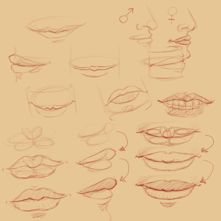 Mouth Study by jamjamstyle
