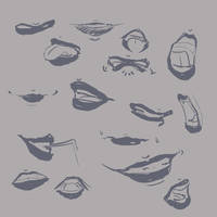 Mouth Study 2 by jamjamstyle