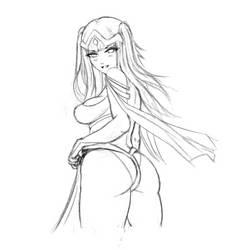 Tharja Doodle by jamjamstyle