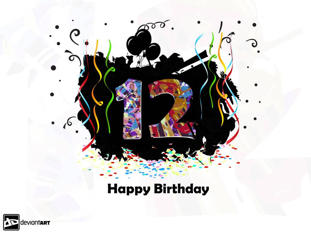 DeviantART's 12th Birthday