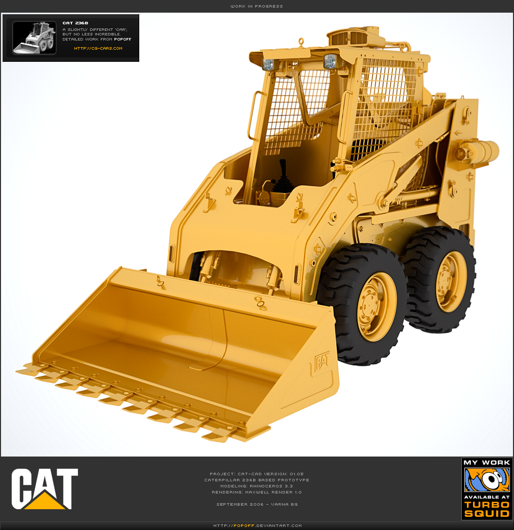 CAT-CAD 01.05 WIP by popoff