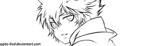 KHR ch273:Tsuna Lineart