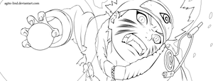Naruto 232 lineart