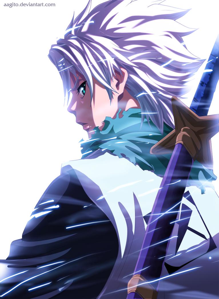 captain toushiro by aagito