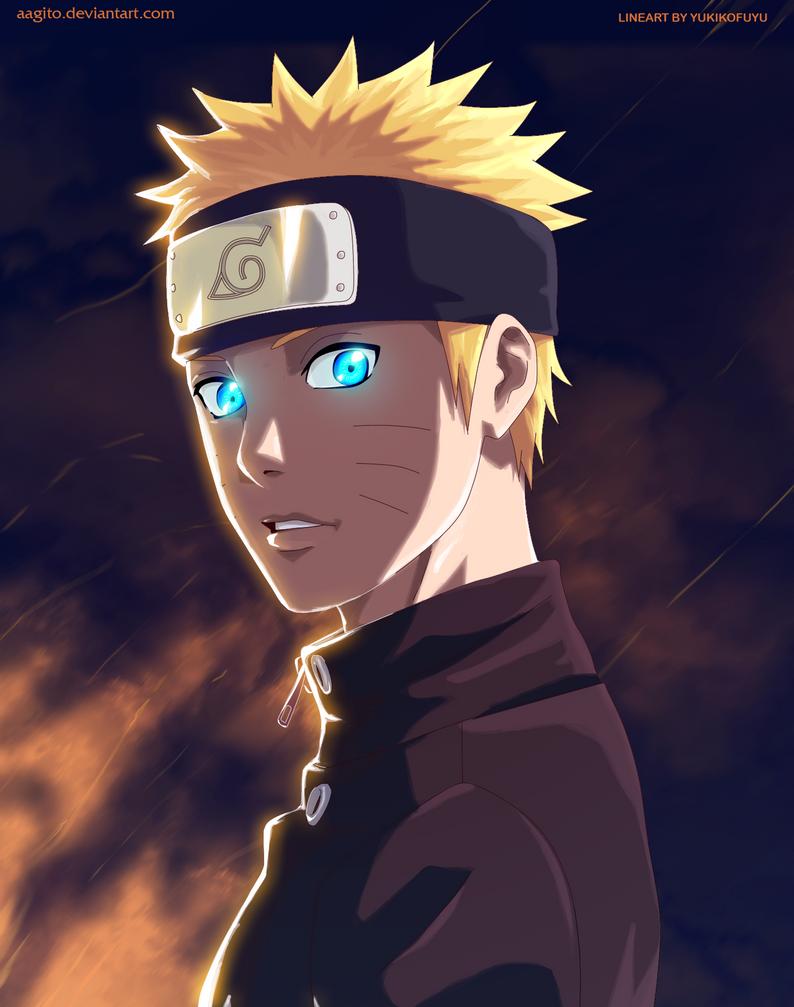 Naruto Uzumaki by aagito