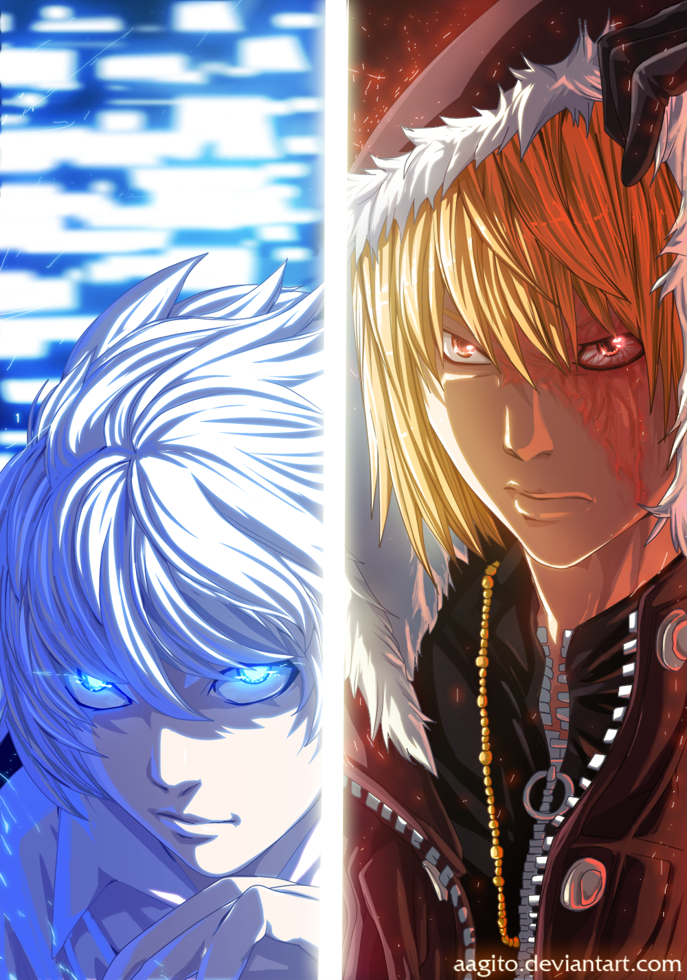 Death Note-Mello and Near by aagito on DeviantArt