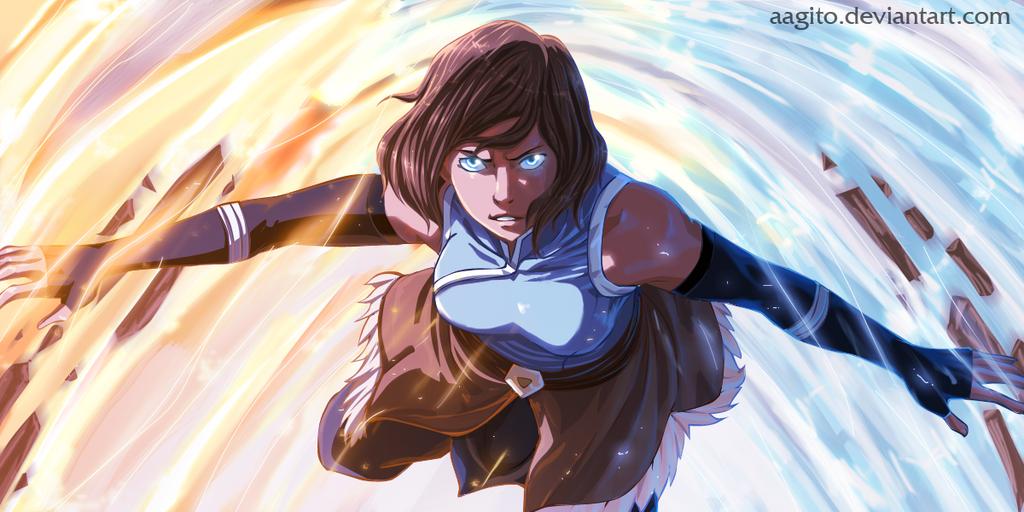 Avatar Korra  by aagito