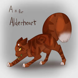 A is for Alderheart by MossclawArt