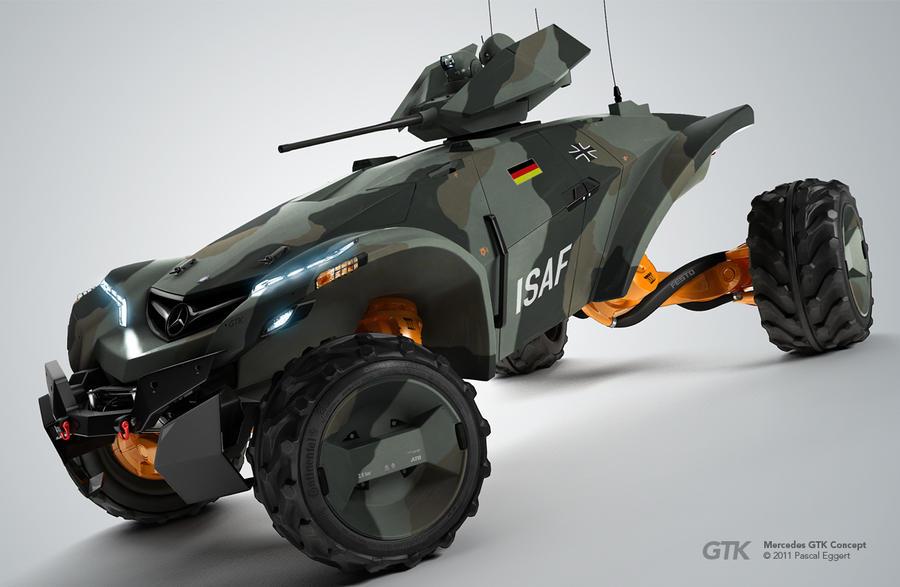 Mercedes GTK Concept by iPeg