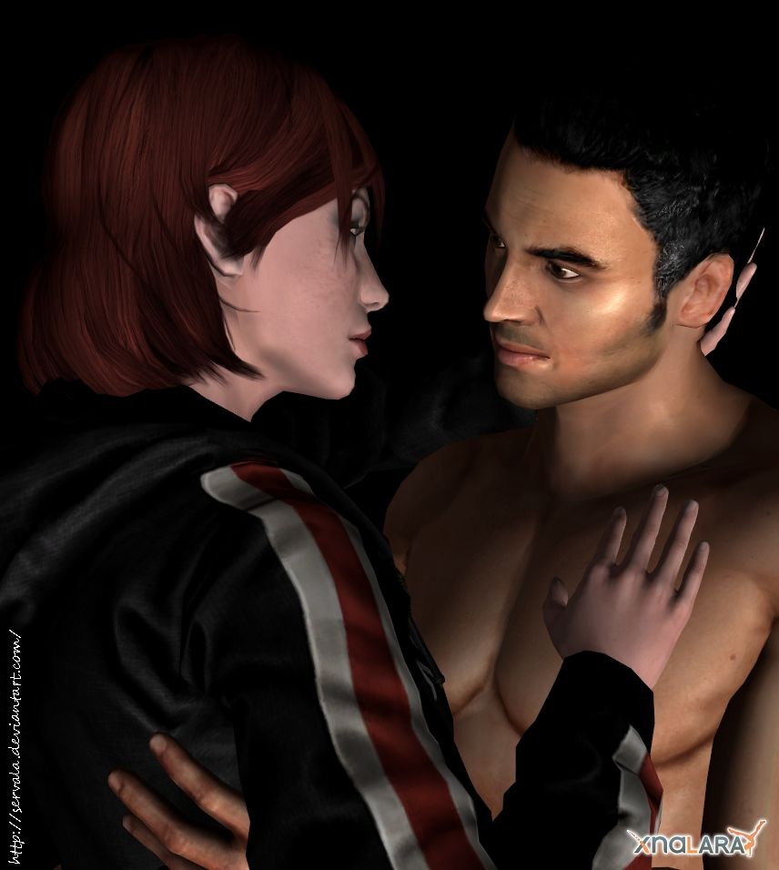 Shepard and Kaidan - to hold by Servala