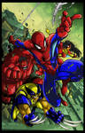 Spiderman and friends Colors