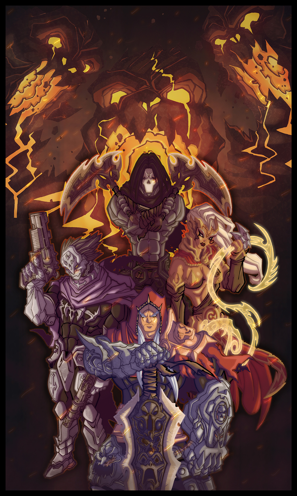 Darksiders Brotherhood by nfteixeira