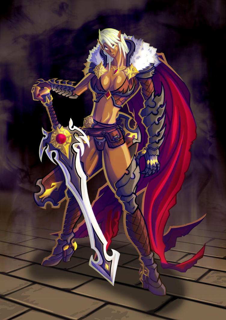 Dark Elf by ironwill-nelson