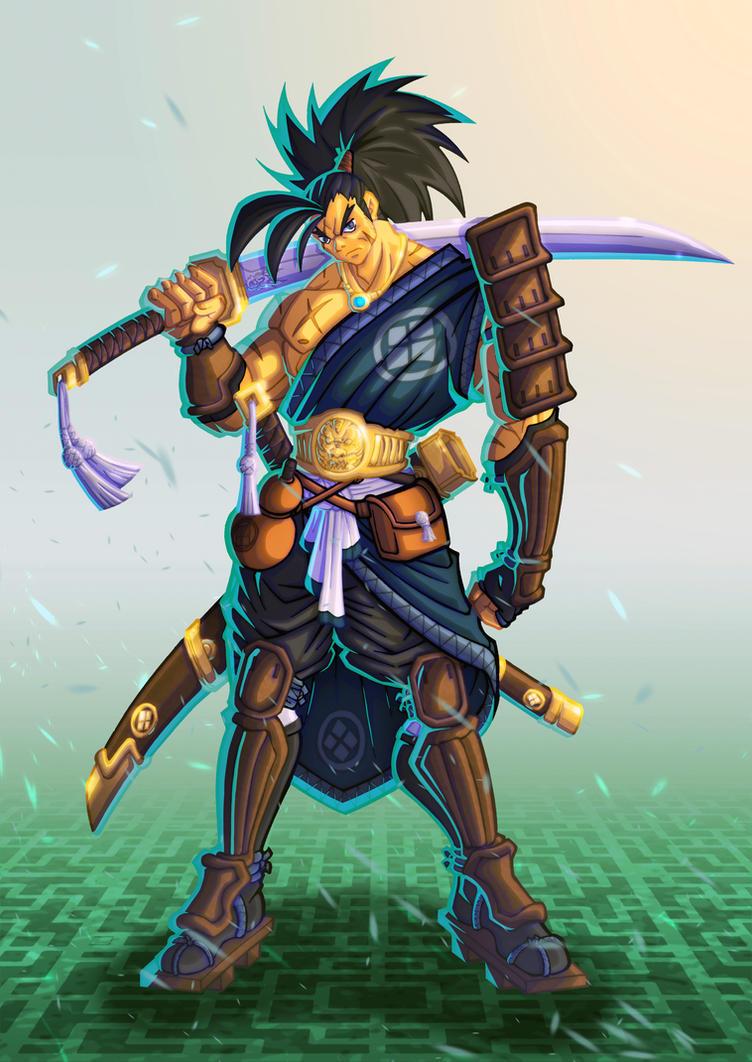 Samurai by ironwill-nelson