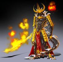 Oni Samurai by nfteixeira