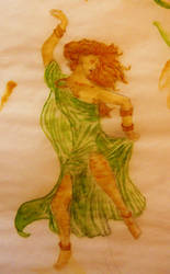 Celtic Dancer by shabur