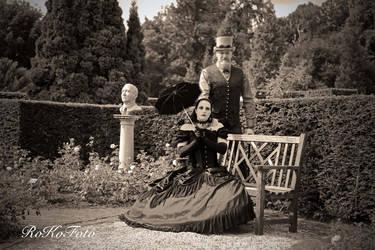 Victorian Love In B/W