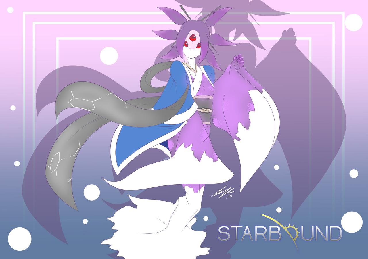 Hylotl by Sarukin
