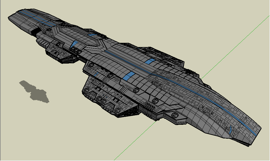 starship heavy carrier by emppyrean on DeviantArt