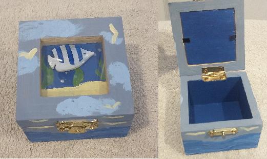 Ocean Jewelry Box by OcellarisClown
