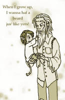 Whateley Toddlers - Beard by dark-precipice