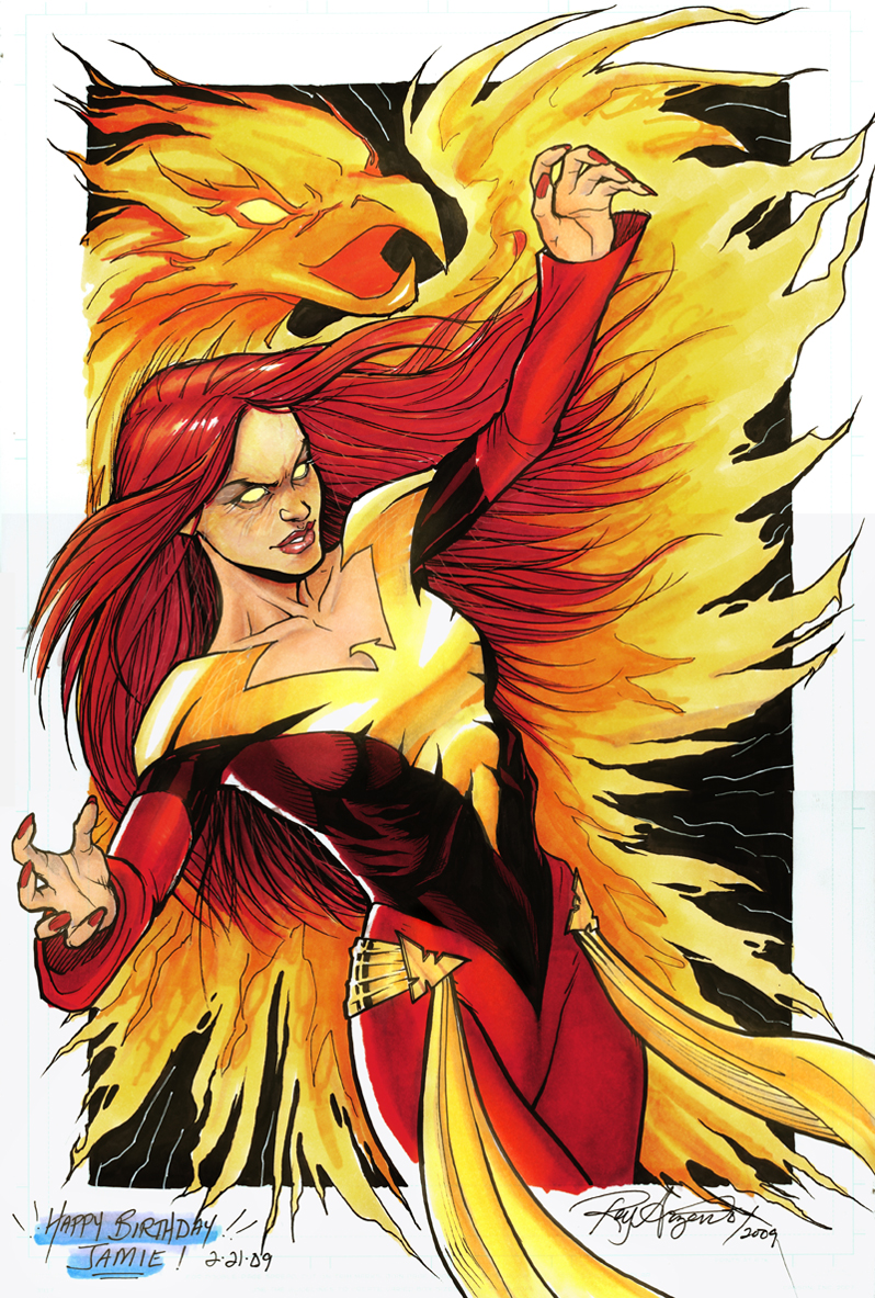 Dark Phoenix Colored