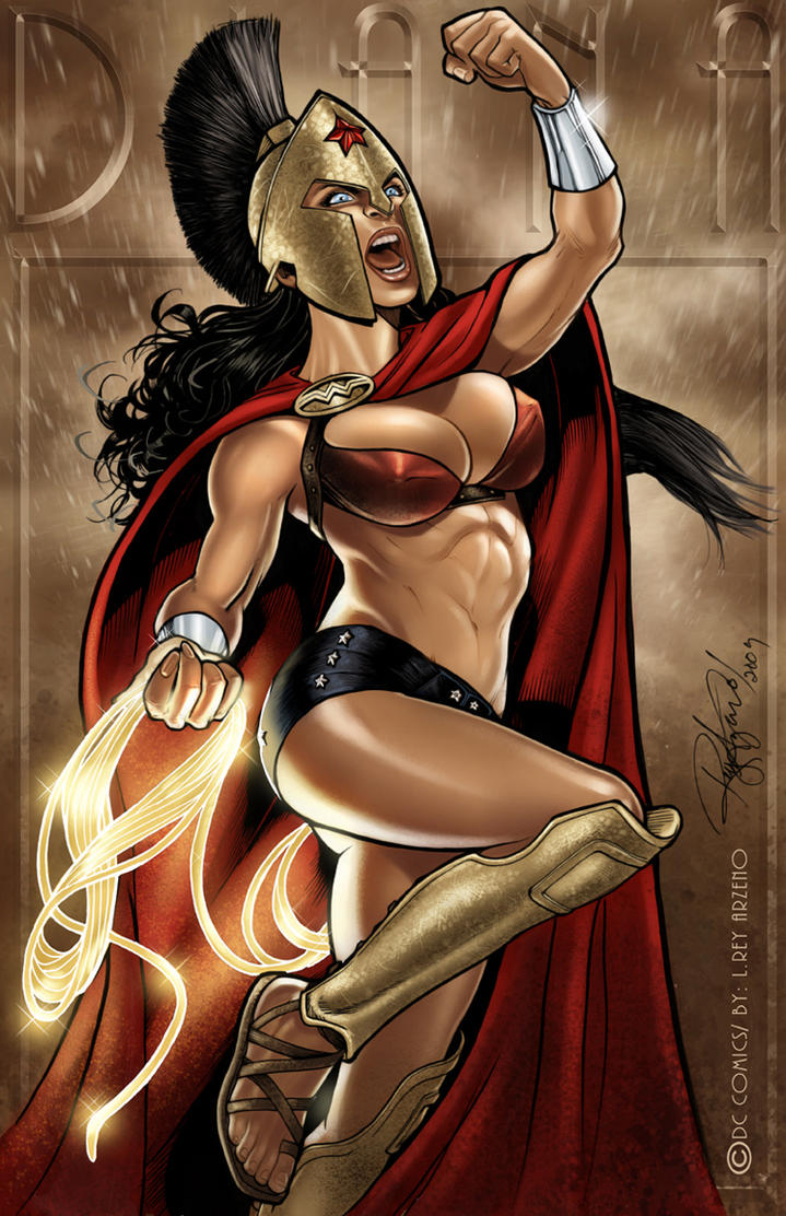 THIS  IS   THEMYSCIRA by Arzeno