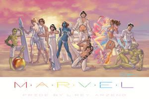 MARVEL PRIDE by Arzeno