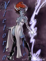Victoria-CapcomContest entry by Arzeno