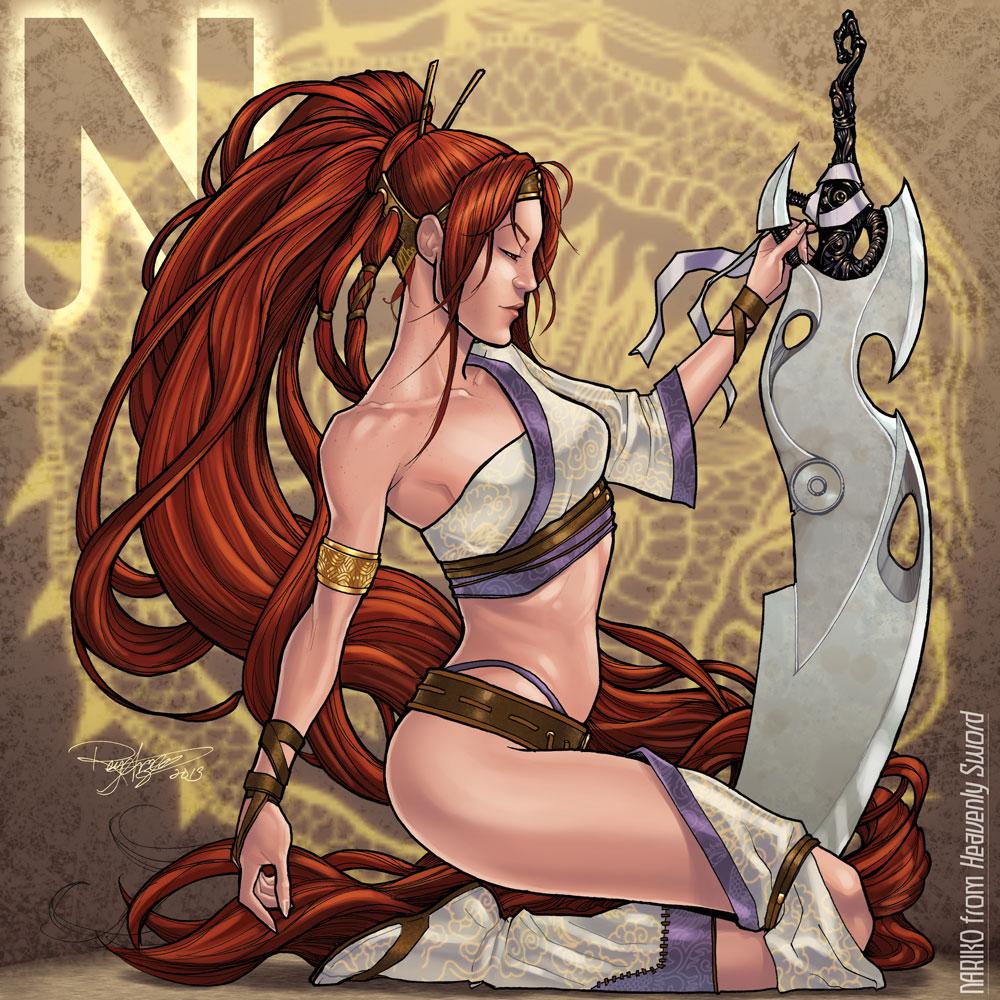 N is for Nariko by Arzeno on DeviantArt