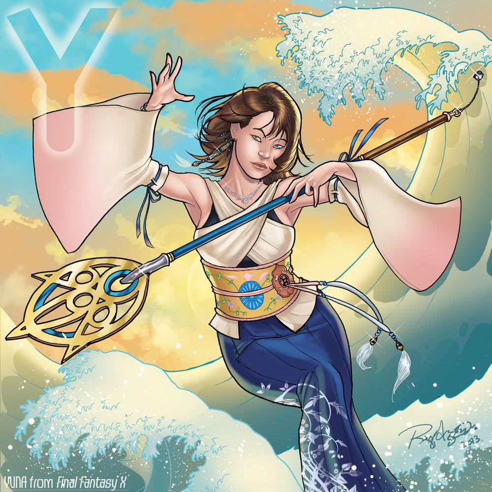 Y is for Yuna by Arzeno