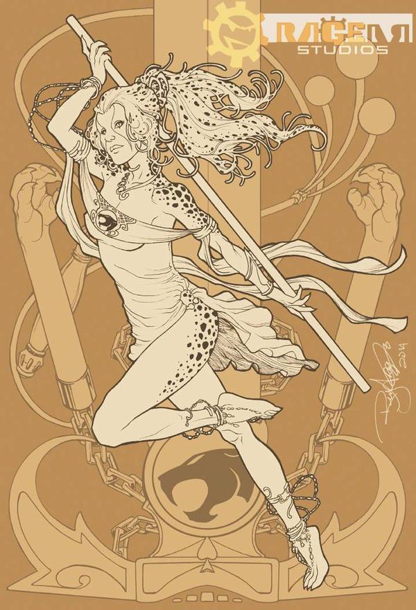 CHEETARA of the THUNDERCATS by Arzeno