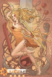 CHEETARA of the THUNDERCATS (color) by Arzeno