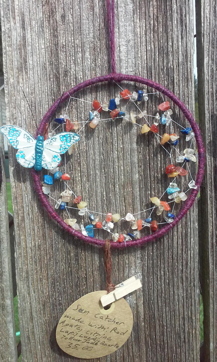GemStone Sun Catcher Sale! by Lady-Of-Ice-Chaos