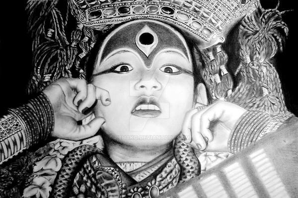 Kumari by kbhako