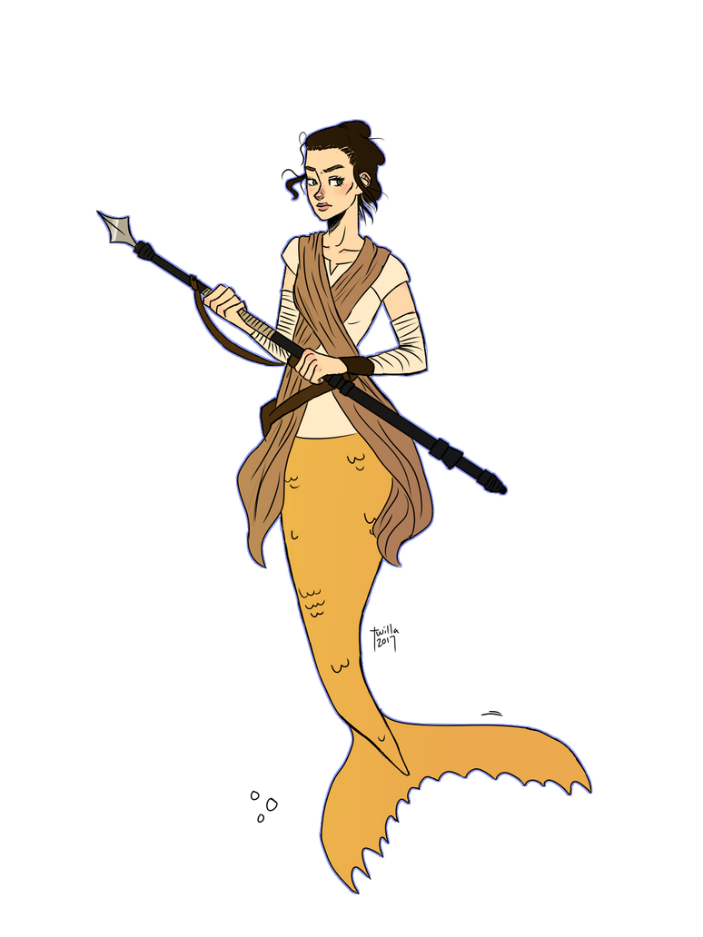 Mermay day 4 (May the Fourth be With You) by Twilla99
