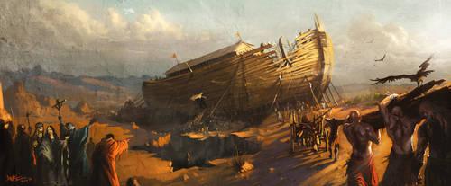 Noah Ship by soheildanesh