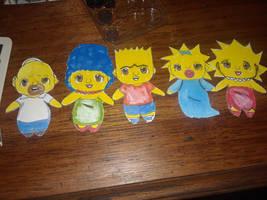 My chibi Simpsons