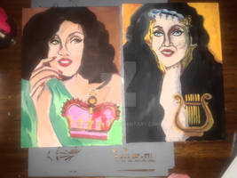 My brand new paintings