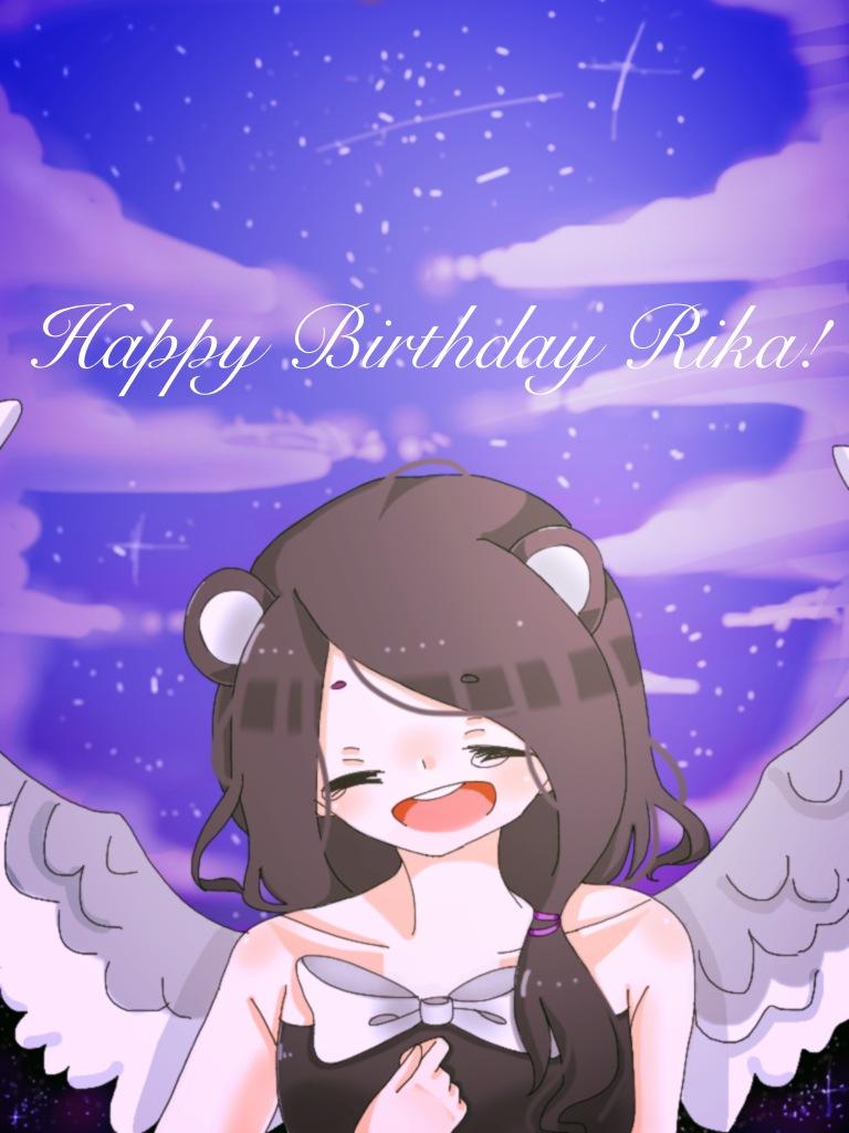 Happy birthday Rika! by Llamasrock123456