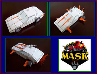 SHARK de M.A.S.K. hecho en cartulina by Paperman2010