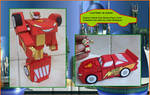 LIGHTNING-McQUEEN-IS-TRANSFORMER-MADE-IN-CARDBOARD by Paperman2010