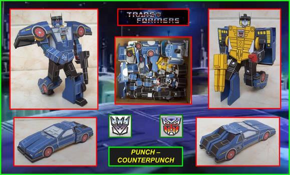 Autobot espia PunchCounterpunch Hecho En Cartulina
